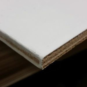 Okoume multiplex wit gegrond 15mm 250x122cm WBP B/BB
