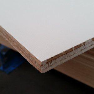 Okoume multiplex wit gegrond WBP QuickPlex® 250x122cm