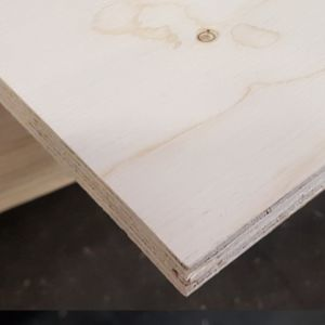 Fins vuren 15mm rechte kanten 244x122cm