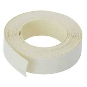 Strijkband 22mm wit 50m1(kantenband)