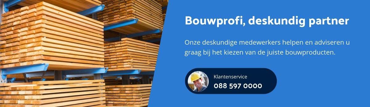 Bouwprofi bouwmarkt